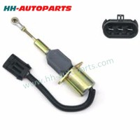 Agricultural Tractor Parts 87801213, 1751ES-12A6UC4B3S1 12V Engine Stop Solenoid for New Holland Parts