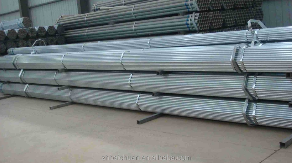 50mm mild steel round pipes for water conduit
