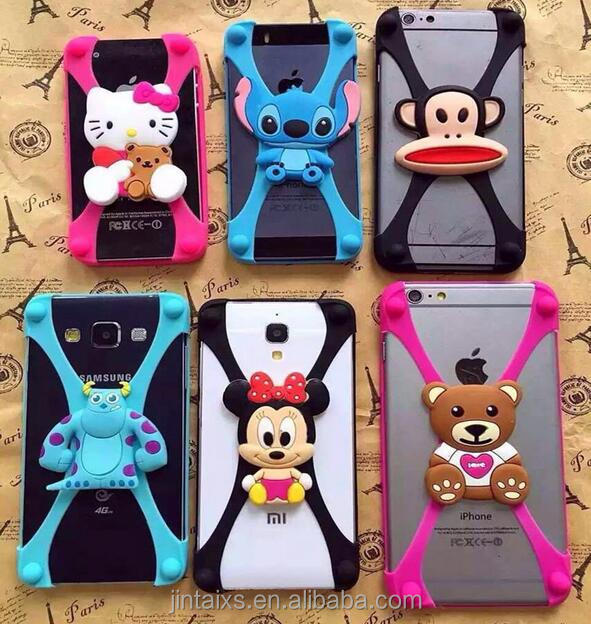 Made in China Colorful Cartoon Silicone mobile case