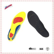 PU breathable energy insole with holes