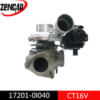 Stock 12 month warranty electric turbocharger 17201-0L040 CT16V turbo Toyota 1kd HILUX SW4 turbo