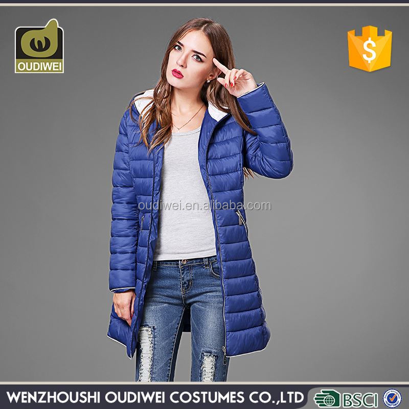 Factory Sale OEM design medium-long coats women from manufacturer
