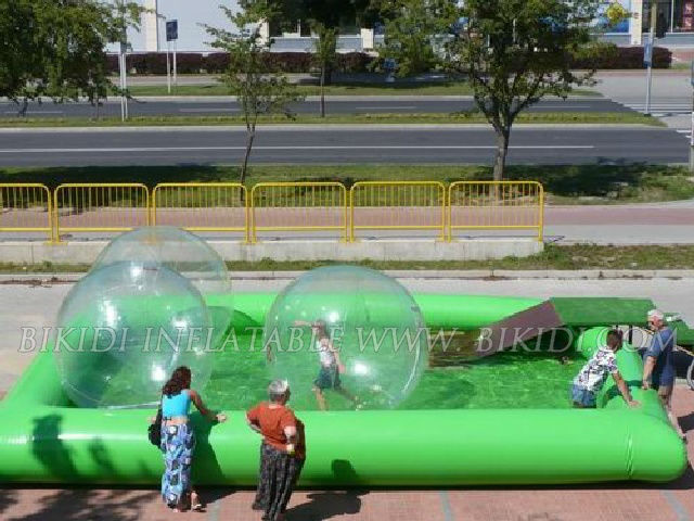 inflatable green swimming pool, water pool inflatable D2010