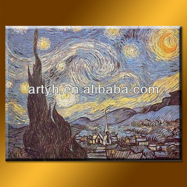 Famous paintings high quality imitate painting by Van Gogh