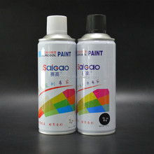 China factory msds produce oil based acrylic resin SaiGao Colour Spray Paint (400ml, Silver)