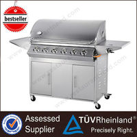 Guangzhou No Smoke Professional Electric Height adjustable bbq grill