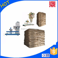 Dry rice bran/rice shell packing machine with large capacity