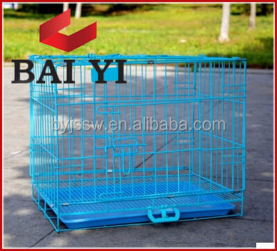 Animal metal wire outdoor dog cage