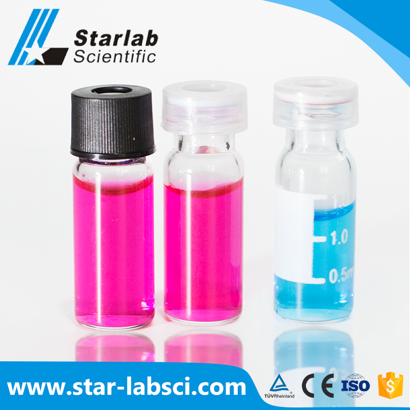 Wholesale 2ml snap glass siliconized vial suppliers