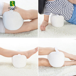 Manufacturer Custom Pain Relief Memory Foam Leg Rest Knee Pillow Cushion For Side Sleepers Sleeping