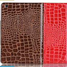 leather smart case for ipad mini crocodile leather case