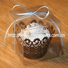 clear plastic cupcake boxes packaging, transparent souvenir plastic packaging box 9*9*9cm