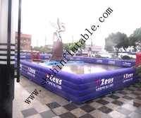 inflatable soccer arena for sports game
