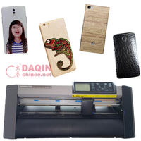 2016 newest mobile sticker printing machine for making hand phone skin