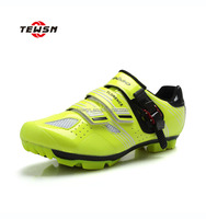 New arrived fluorescent green bike shoes