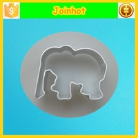 Elephant aluminum cooky press for cake decorating