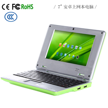 "Cheap 7"" CPU Via 8880 Laptop PC, Notebok 1.5Ghz Android 4.4 android tablet Computer"