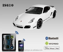 brand car Android control bluetooth 1 16 Porsche Cayman large scale rc cars