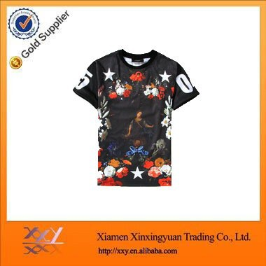 The Latest Design Women Fashion Clothing All Over Printing T Shirt