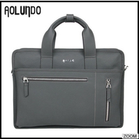 China manufacturer price business 17 inch leather laptop bag