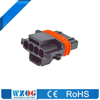 Equivalent Auto Plug High Pressure Female 4 Pin Waterproof Automotive Car Connector