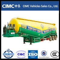 Cimc 3 Axles Bulk Cement Trailer