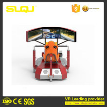 Driving simulator game equipment for driving school