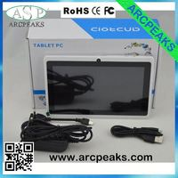 q88 rockchip rk2918 cortex-a8 1.2ghz tablet pc