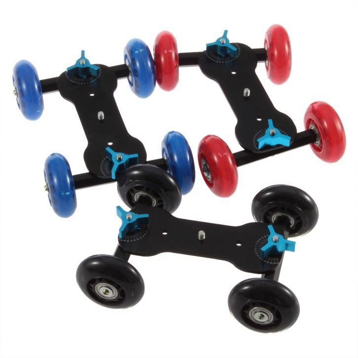 Glide Gear Dslr Video Camera gyro Stabilizer Table Top Skater Dolly Roller Stabilizer Stabilizer for Car