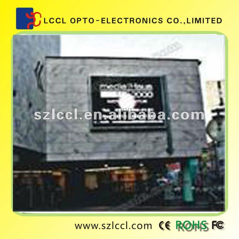 Outdoor Wall Mounted Led Display Sign Board