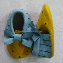 Happy china factory directly sell baby leather shoes