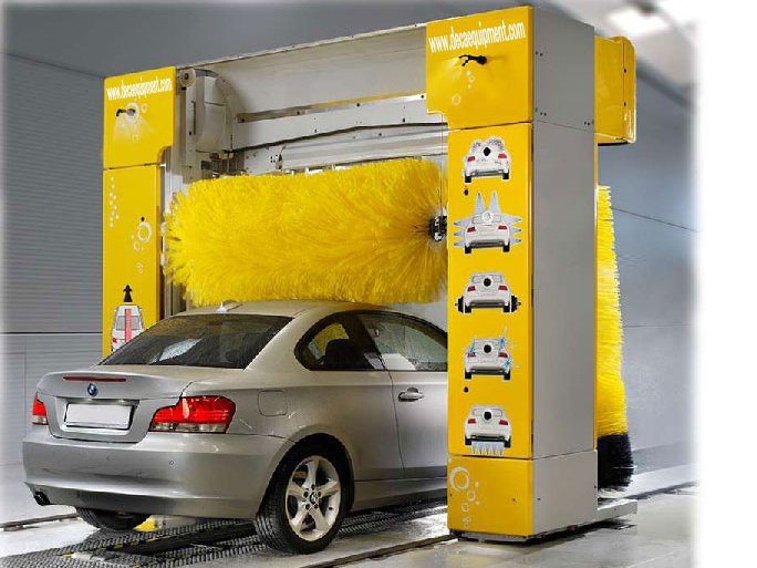 touch free automatic steam car wash machine price DK-5F