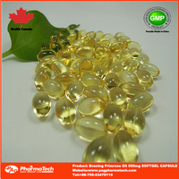 OEM brand evening primrose oil 500mg/1000mg softgel capsules
