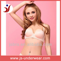 Ladies Sexy stylish nude bra,beauty sofe polyamide underwear,push up sexy lingerie whole sale