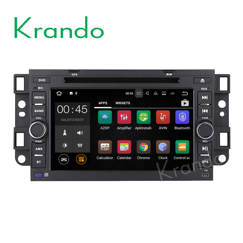 "Krando car radio player Android 7.1 7"" for Chevrolet Aveo 2002-2011 For Holden Captiva 2006-2012 gps navigation WIFI KD-CU702"