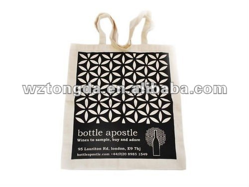 antibacterial cotton canvas shopping bag(WZ1911)
