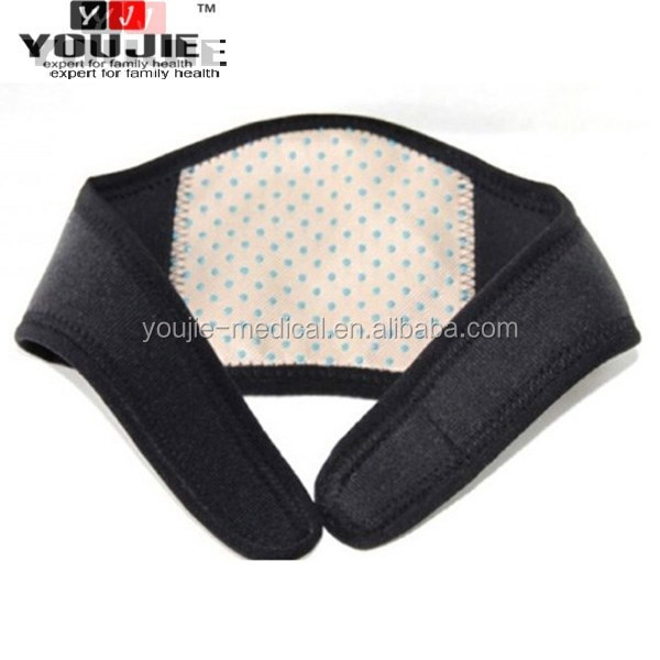 Heating Tourmaline neck support for neck physcial pain therapy