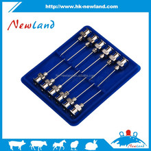 NL301 High quality veterinary stainless steel syringe needles,Veterinary injection needle,milk needle