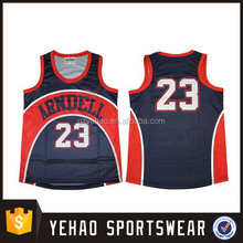 top quality tight fit custom sublimated basketball jersey/uniform