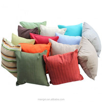 solid pattern throw cushion pillow cover outdoor decor. 100% solution-dyed acrylic fabrics