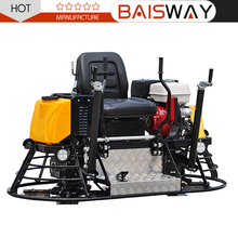 2017 Concrete laser screed mini power trowel ride on power trowel for sale with factory prices