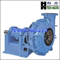 Double casing hard metal slurry pump for silica sand dredging