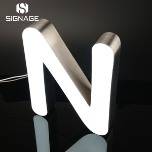 Customized outdoor 3d letter sign led sign channel letter signage