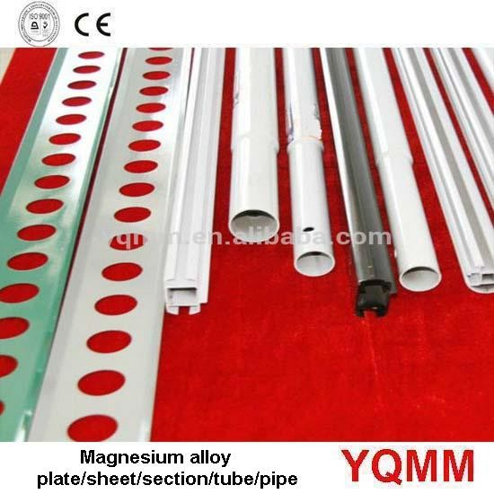 Magnesium alloy plate/sheet/section/tube/pipe