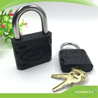 """GLOBE"" bulk lock set high safety anti-theft cast iron padlock"