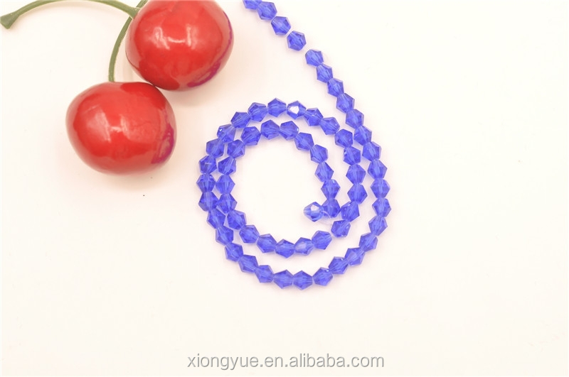 Pujiang crystal purple beads home decoration crystal string