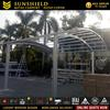 Low Cost Metal Aluminum Garages Carport for 2 Car / Door Gate Canopy
