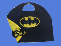 China factory derictly kids batman Cape and mask for boy Girl Costume
