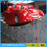 Most popular amusement park rides kiddie rides mini flying car meniscus floating car