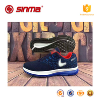2017 top quality custom brand running sport shes ,easy and convenient breathable custom fly fabric shoes